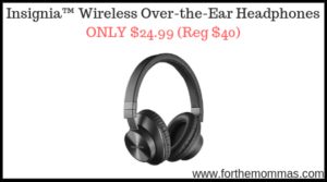 Insignia™ Wireless Over-the-Ear Headphones
