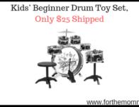 Kids' Beginner Drum Toy Set