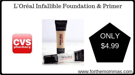 L'Oréal Infallible Foundation & Primer
