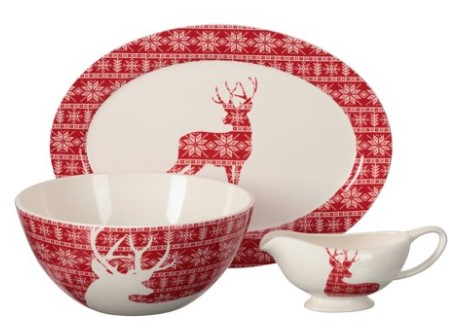 Walmart: Mainstays Deer Serving Set $9.97 {Reg $22.54}