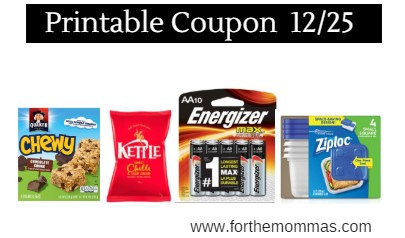 graphic regarding Quaker Printable Coupons called Most current Printable Discount codes 12/25: Help save Upon Quaker, Kettle