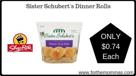 Sister Schubert's Dinner Rolls