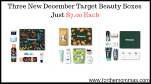 Three New December Target Beauty Boxes