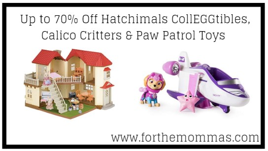 Amazon Up To 70 Off Hatchimals Colleggtibles Calico Critters