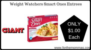Weight Watchers Smart Ones Entrees