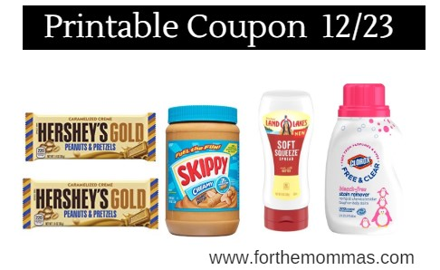 picture relating to Clorox Printable Coupons known as Most current Printable Discount coupons 12/23: Help you save Upon Hersheys, Refresh