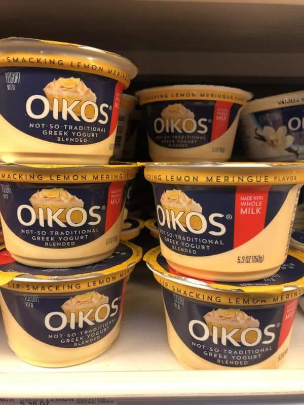 Giant: FREE Dannon Oikos Whole Milk Yogurt Cups Thru 2/14!