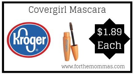 Kroger: Covergirl Mascara ONLY $1.89