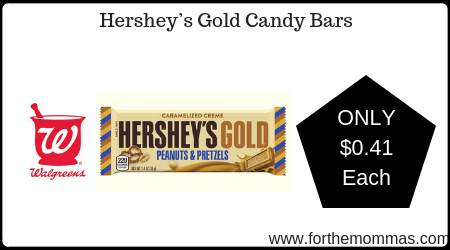 Hershey's Gold Candy Bars