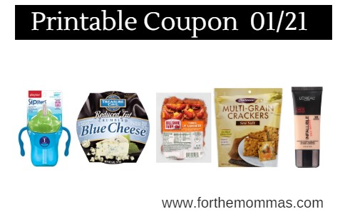 Newest Printable Coupons 01/21: Save On Playtex, Crunchmaster, L'Oreal & More