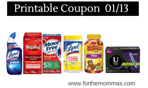 picture regarding Printable Lysol Coupons known as Most recent Printable Coupon codes 01/13: Help save Upon Vitafusion, Mega Pink
