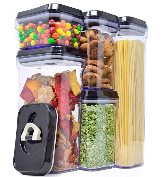 Royal 5-Piece Air-Tight Food Storage Container Set 25.39 Shipped