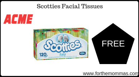 photo regarding Scotties Tissues Printable Coupon referred to as Acme: Free of charge Scotties Facial Tissues Through 1/24! - FTM