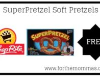 ShopRite: FREE SuperPretzel Soft Pretzels Starting 4/7!