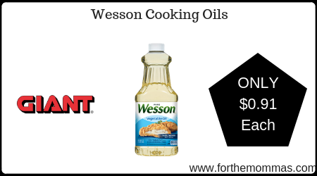 Wesson Cooking Oil