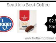 Kroger Mega Sale : Seattle's Best Coffee ONLY $2.99 {Reg $4.99}
