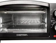 CHEFMAN – 4-Slice Toaster Oven ONLY $19.99 (Reg $39)