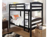 Better Homes and Gardens Leighton Twin Over Twin Wood Bunk Bed $159 (Reg $199)