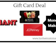 Giant: Gift Card Moneymaker Deal Starting 3/1! {10X's Points}