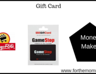 Gift Card Deal – $10.00 Moneymaker Starting 2/24!