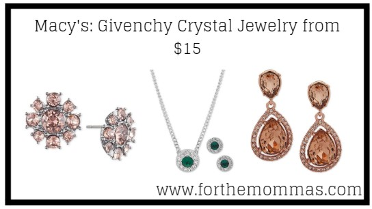 Givenchy Crystal Jewelry from $15