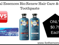 Renew Hair Care & Crest Toothpaste ONLY $0.79 Each Starting 2/24
