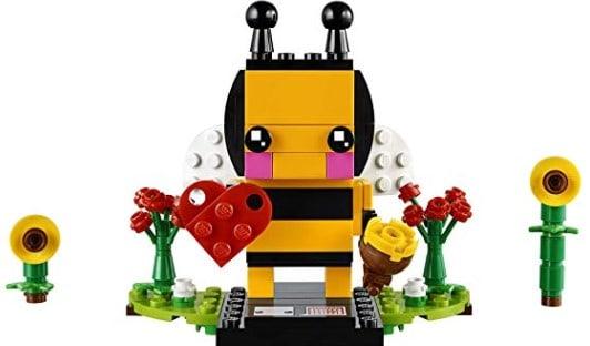 LEGO BrickHeadz Valentine's Bee Building Kit (140 Piece) $6.99 (Reg $10)