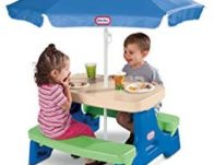 Little Tikes Easy Store Jr. Picnic Table with Umbrella $41.99 (Reg $70)