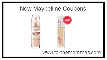 photograph regarding Maybelline Coupons Printable known as Refreshing Maybelline Coupon Conserve $5.00 - FTM