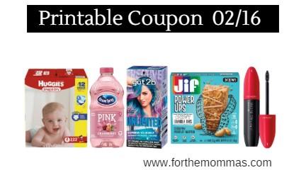 photo regarding Printable Coupons for Huggies Diapers identified as Printable Coupon codes Roundup 02/16: Preserve Upon Huggies Diapers