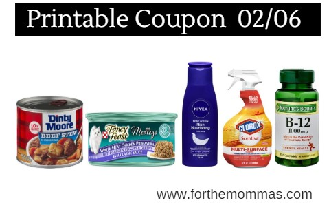 graphic about Nature's Bounty Printable Coupon called Hottest Printable Coupon codes 02/06: Help you save Upon Natures Bounty