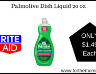 Palmolive Dish Liquid 20-Oz ONLY $1.49 Starting 2/24