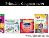 Newest Printable Coupons 02/23: Save On Kellogg's, Scrubbing Bubbles, Meow Mix & More