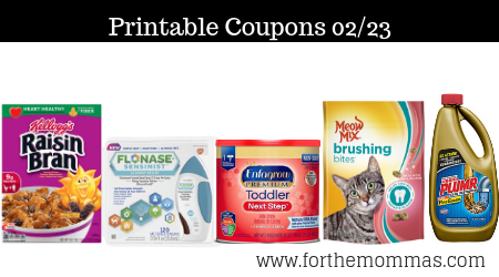 graphic relating to Meow Mix Coupon Printable identified as Printable Coupon codes Roundup 02/23: Help you save Upon Kelloggs