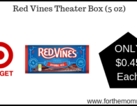 Target: Red Vines Theater Box (5 oz) $0.45 Each