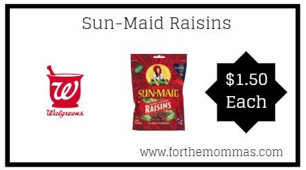 Walgreens: Sun-Maid Raisins ONLY $1.50 Each Starting 2/10