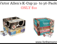 Victor Allen's K-Cup 32- to 36-Packs ONLY $10