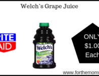 Welch's Grape Juice ONLY $1 Each Starting 2/24