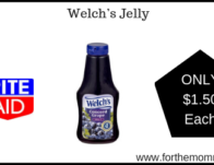 Rite Aid: Welch's Jelly ONLY $1.50 Each Starting 2/24