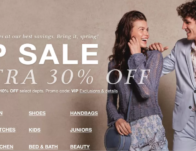 Macy's VIP Sale: Up to 30% Off