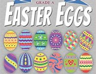 Easter Eggs Coloring Book Under $5!