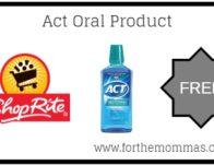ShopRite: FREE Act Oral Product Thru 4/6!