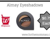Walgreens: Almay Eyeshadows Just $0.75 Each 3/24 ONLY!