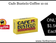 ShopRite: Cafe Bustelo Coffee 10 oz JUST $1.50 Each Thru 3/16!