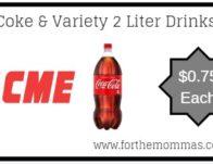 Acme: Coke & Variety 2 Liter Drinks JUST $0.75 Each Thru 3/28!