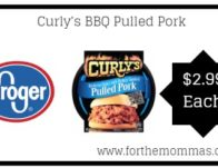 Curly's BBQ Pulled Pork ONLY $2.99 {Reg $6.49}