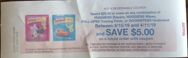 Giant: Huggies Diapers JUST $2 49 Each Thru 3/21! {Clearance Deal} - FTM