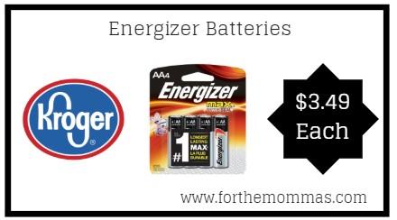 kroger energizer batteries only reg ftm. Black Bedroom Furniture Sets. Home Design Ideas