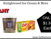 Enlightened Ice Cream & More Just $1.34 Each Starting 3/22!