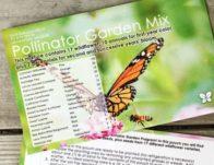 Free Pollinator Garden Mix Wildflower Seed Pouch